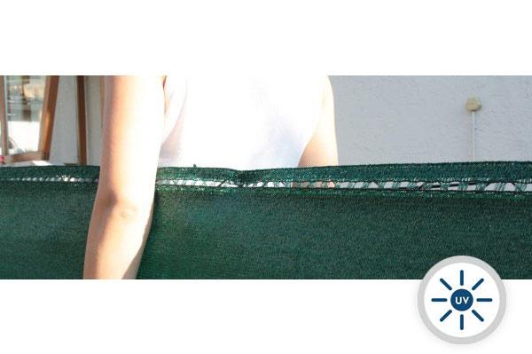 Sichtschutznetz fast blickdicht - Sichtschutz 98% - Grammatur 230 g/m²