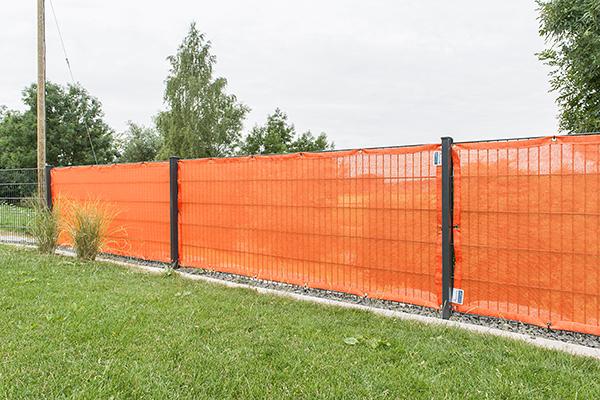 Windschutznetz nach Maß - 65% Windschutz - Grammatur 140 g/m²