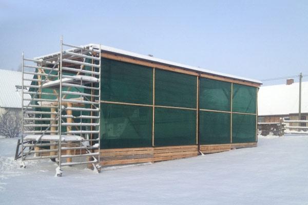 Bei Montage mit Dachlatten auch für große Flächen
