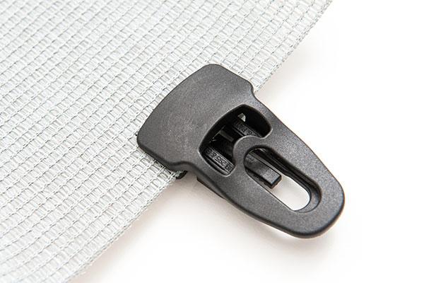 Befestigungsclip groß in weiß oder schwarz lieferbar