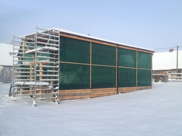 Windschutznetz - 80 % Windschutz - Grammatur 200 g/m²