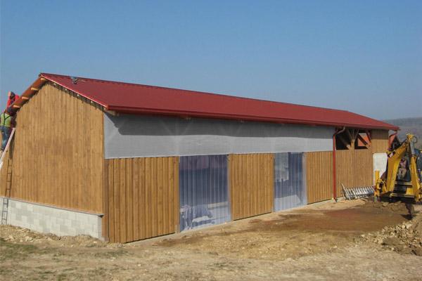 Stall-Windschutzgitter - 90% Windschutz - Grammatur 400 g/m²