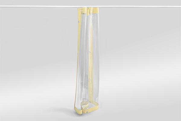 Outdoor-Vorhang aus flexiblem PVC
