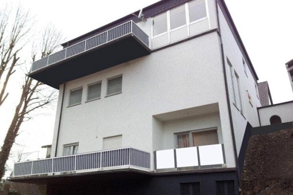 balkonbespannung balkonumrandung anthrazit k ln siegen. Black Bedroom Furniture Sets. Home Design Ideas
