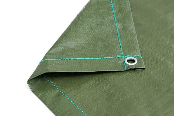 Abdeckplane grün