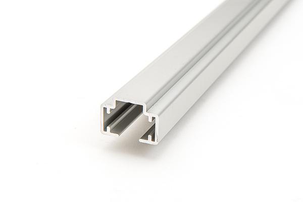 Aluminium - stabil durch spezielles Profil