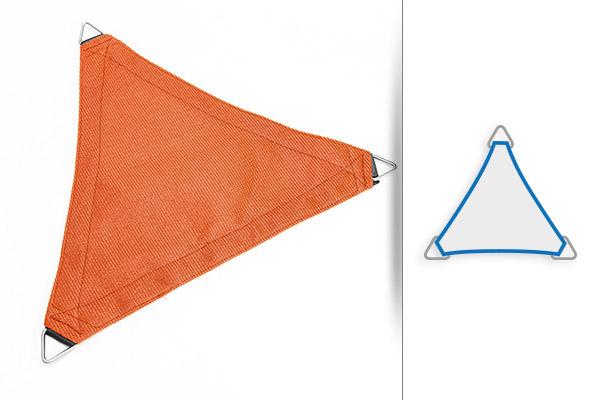 Sonnensegel Form Dreieck