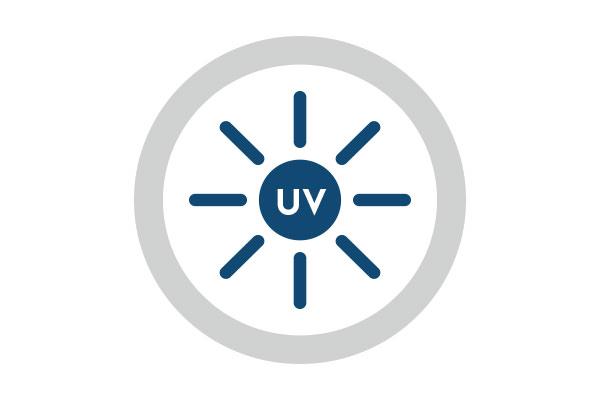 UV-stabilisiert