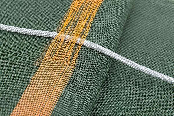 Siloschutzgitter - Fixierung mit Seil