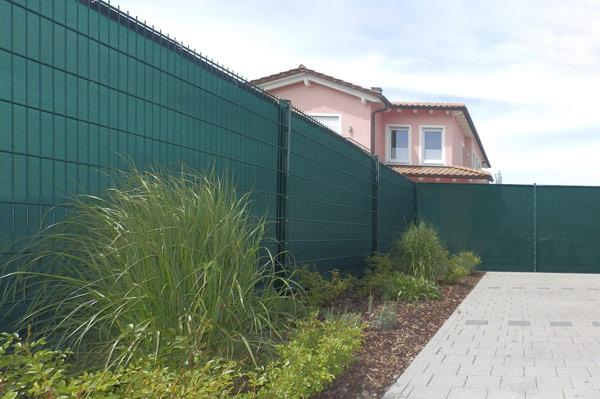 Windschutz und Sichtschutz für den Garten - ca. 80% Schutzwert