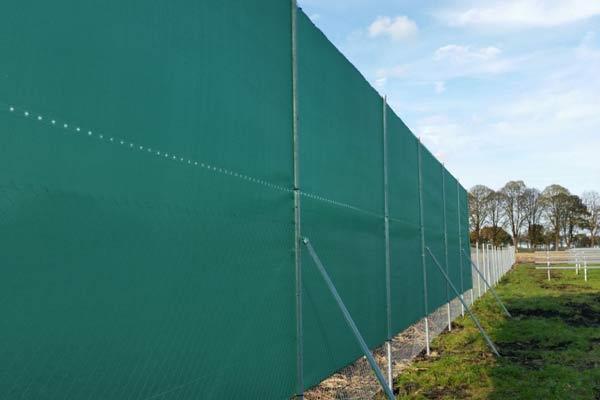 Blendschutz für Solarpark 3m hoch