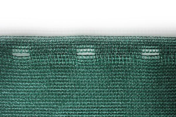 Windschutznetz mit Lochleiste, Abstand 8 cm