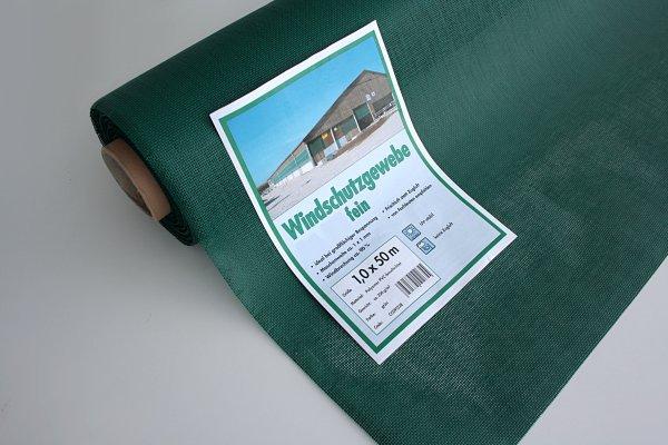 Stall-Windschutznetz fein mit 90% Windschutz