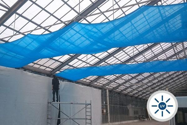 Industrie Sonnenschutz und Schattierung für Glasdach