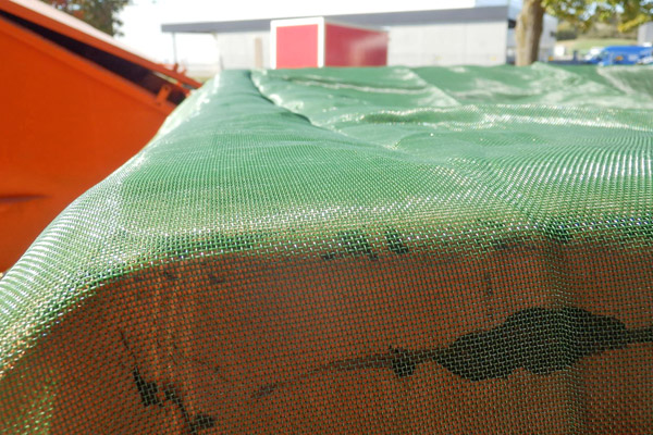 Hohe Reißfestigkeit auch an Containerkanten