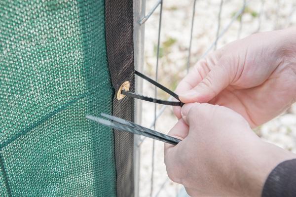 Montage und Befestigung mit Kabelbindern
