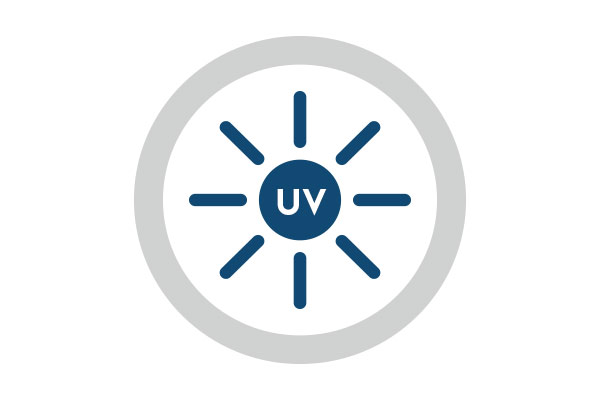hoch UV-stabilisiert