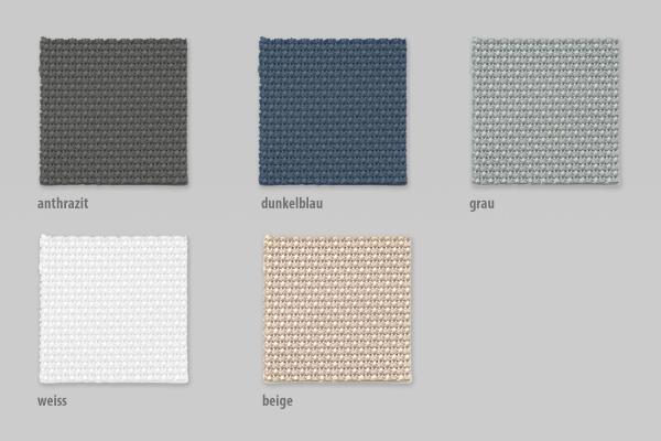 Outdoor-Vorhang Structure in anthrazit, blau, grau, weiß oder beige