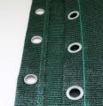 Windschutz-Vorhang mit Ösen