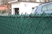 Sichtschutznetz - Befestigung