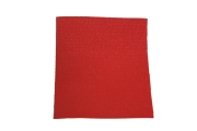 Balkonsichtschutz rot