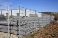 Zäune aus Metall/Doppelstabmatten