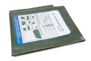 Abdeckplane grün 210