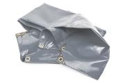 PVC-Abdeckplane grau