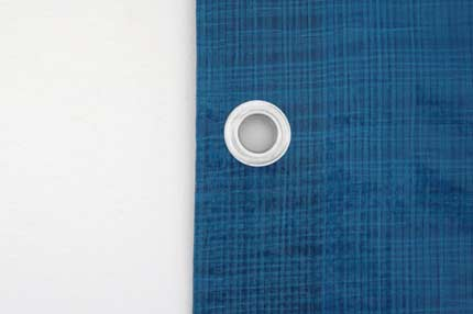 Bauzaunplane - blau