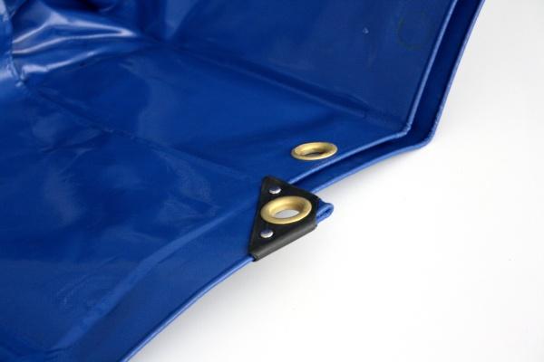 Containerabdeckung PVC grün oder blau