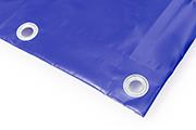 PVC Abdeckplane blau RAL 5002