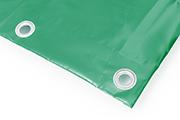 PVC Abdeckplane hell-grün RAL 6005