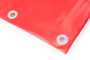 PVC Abdeckplane rot RAL 3002