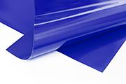 Meterware PVC Plane blau RAL 5002