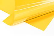 Meterware PVC Plane gelb RAL 1003