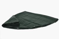 Abdeckplane rund für Holzmiete oder Pool-Abdeckung