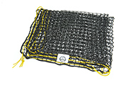 Abdecknetz - flach gelegt platzsparend aufzubewahren