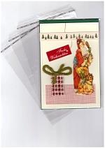 Adhäsionsverschlussbeutel für hochwertige Drucksachen und Textilien