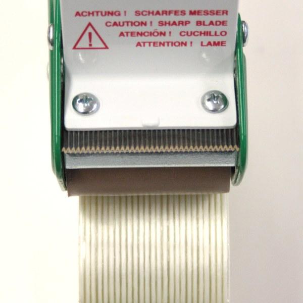 Filamentbandabroller - Detailbild für das Spezialmesser