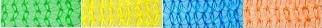 Gerüstschutznetz - weiß - grün - gelb - blau - orange