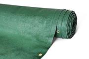 Zaunblende grün 100 % winddicht