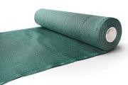 Zaunblende grün mit 75 % Windschutzwert