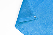 Sichtschutznetz aquablau