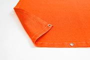 Sichtschutznetz orange