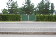 Für Tore ergänzend als Sichtschutzfüllung passend für jedes Segment