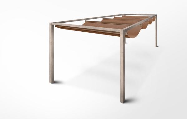seilspannmarkise nach ma f r pergola. Black Bedroom Furniture Sets. Home Design Ideas