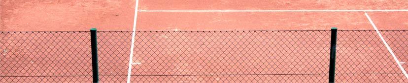 Windschutz und Sichtschutz am Tennisplatz